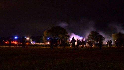 Francia: scontri con la polizia al rave party illegale, feriti