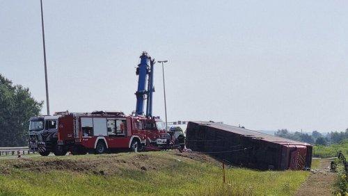 Bus aus Frankfurt in Kroatien verunglückt: 10 Tote - schlimmstes Unglück seit 15 Jahren