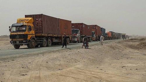 Frachtverkehr in Afghanistan: Die Taliban bitten zur Kasse