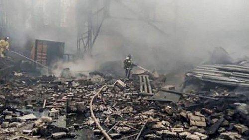 At least seven people dead following blast at Russian gunpowder factory