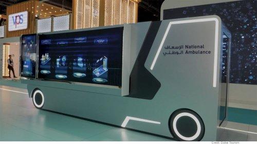 هوش مصنوعی و پیشگیری از انتشار ویروس کرونا در نمایشگاه بهداشت۲۰۲۰ دوبی
