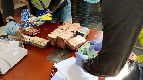 """Spanien: """"Europas größtes Kokain-Netzwerk"""" ausgehoben"""
