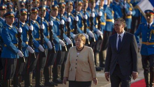 Balkan-Reise: Angela Merkel will die EU-Osterweiterung