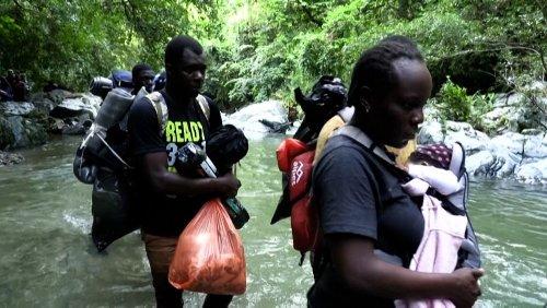Colombie : des migrants haïtiens à l'assaut du Darien