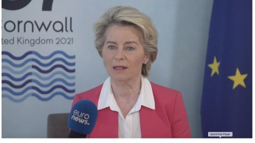 Exclusive: Ursula von der Leyen says G7 global strategy has 'no strings attached' unlike China
