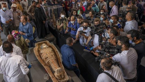 Egypt discovers 2,500-year-old tomb containing at least 100 mummies