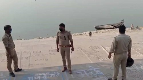 Dead bodies found floating in India's Ganges River