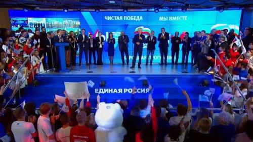 Geeintes Russland deutlich vorn – Aufschwung der Kommunistischen Partei