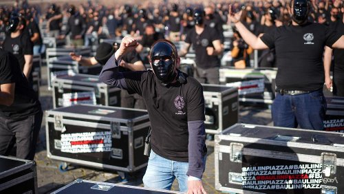 Covid-19 : un samedi de manifestations dans plusieurs pays d'Europe