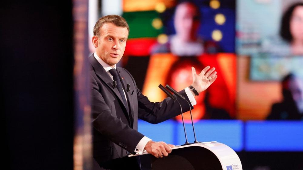الرئيس الفرنسي ماكرون يدعو إلى اتحاد أوروبي أكثر مرونة
