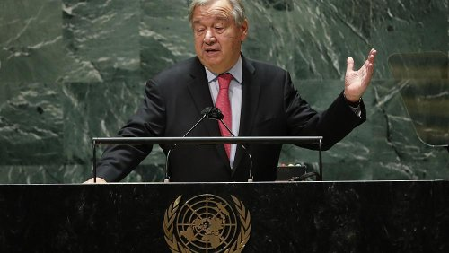 COP26: UN Secretary-General António Guterres warns of 'code red for humanity'