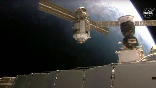 Russian module knocks International Space Station out of position