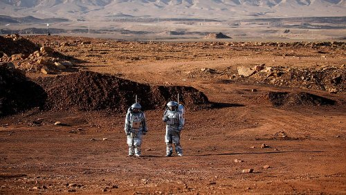 These photos show life on Mars training camp in the Israeli desert