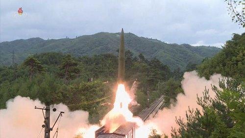 Nordkorea testet mobile Raketenabschussrampe