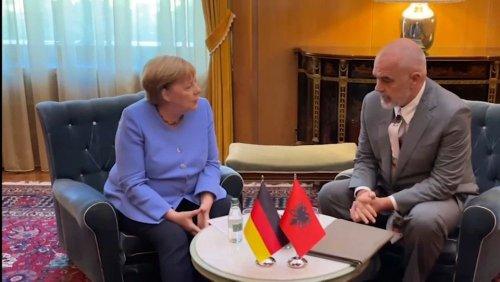 Westbalkan-Reise: Merkel wirbt für EU-Erweiterung