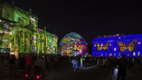 In pictures: Berlin's Festival of Lights transforms famous landmarks