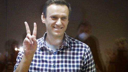 In Russland inhaftierter Alexej Nawalny bekommt Sacharow-Preis 2021