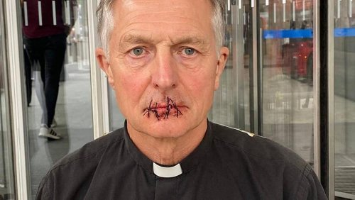 Priest sews his mouth shut over 'muting of climate science by Murdoch media'