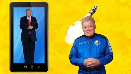 Tech this week: Trump returns to social media...sort of and William Shatner's space trip criticised