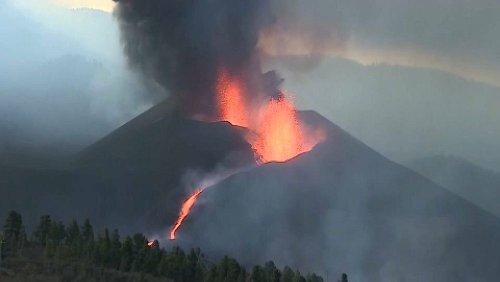 18.000 Tonnen am Tag: Schwefeldioxidwolke über La Palma wird größer