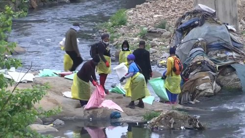 50 million volunteers in 180 countries take part in World Cleanup Day