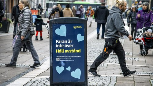 Swedish region declares 'personal lockdown' as country sees daily COVID cases soar