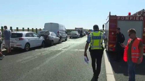 Dichter Nebel: Massen-Crash mit 55 Autos in Rumänien