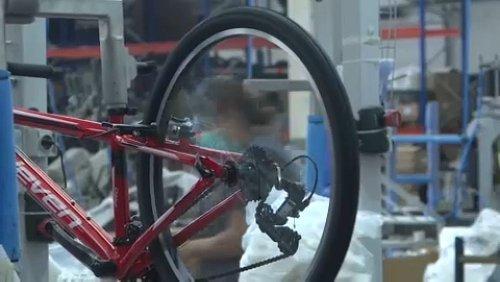 Gut gesattelt: Die meisten Fahrräder kommen aus Portugal