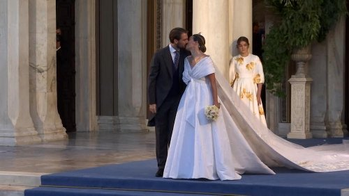 Mariage royal : le fils cadet de l'ex-roi de Grèce a épousé la fille d'un milliardaire