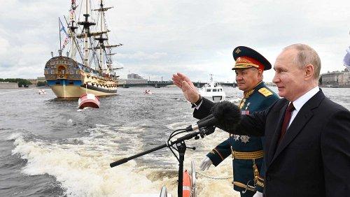 """Tag der russischen Seestreitkräfte – Putin: """"Wir können jeden Gegner orten"""""""