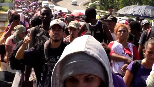 Migrantenkarawane: Mehr als 2000 Menschen brechen aus Tapachula auf