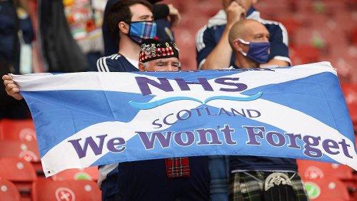 Escoceses preparam-se para o duelo contra Inglaterra