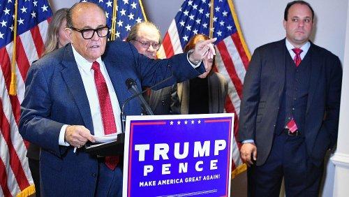 """""""Nachweislich falsche Aussagen"""": Trump-Vertrauter Giuliani verliert Anwaltszulassung"""
