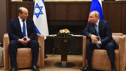 Naftali Bennett en Russie pour ses premiers pourparlers avec Vladimir Poutine