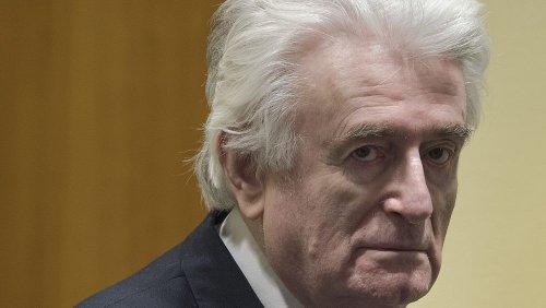 Verurteilter Kriegsverbrecher Karadžić will nicht hinter britische Gitter