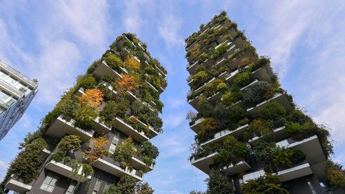 Welcome to the Milan apartments where 300 humans live in harmony with 21,000 trees