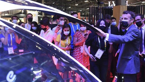 France will 'drive innovation ecosystem of Tech,' Emmanuel Macron tells Euronews Next