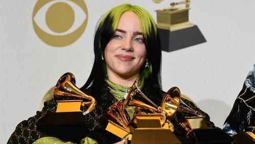 بیلی آیلیش ۱۸ ساله چهار جایزه موسیقی گرمی ۲۰۲۰ را از آن خود کرد