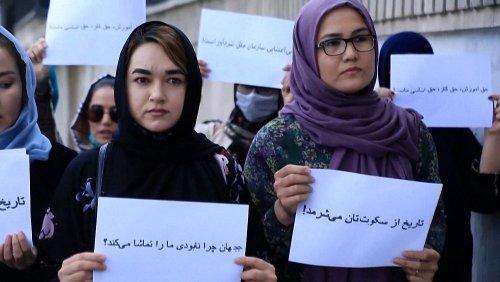 Kabul: Frauen rufen Weltöffentlichkeit an