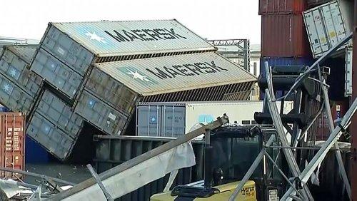 Tornado in Neuseeland: Ein Hafenarbeiter getötet