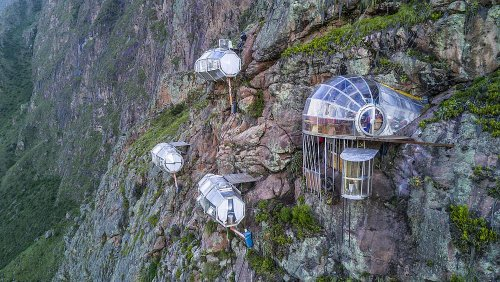 This hanging hotel in Peru isn't for the faint-hearted
