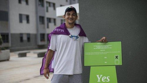 """Gibraltar stimmt in Referendum pro Abtreibung: """"Ja zu Menschenrechten"""""""