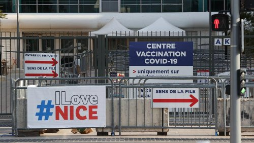 COVID mass vaccination centre in Nice closes early after just 58 people turn up