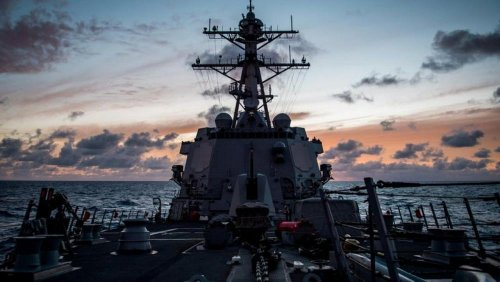 China condemns U.S., Canada for sending warships through Taiwan Strait