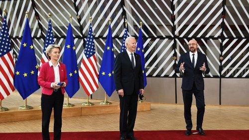 Joe Bidens amerikanische Charme-Offensive in Brüssel