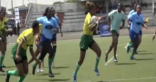 Côte d'Ivoire: Girls reinforce personal empowerment as rugby players | Africanews