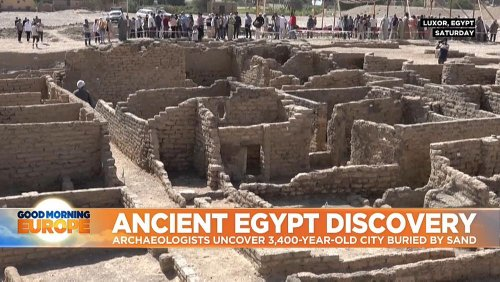 Uncovering lost Egyptian city 'the most important discovery' since King Tut's tomb