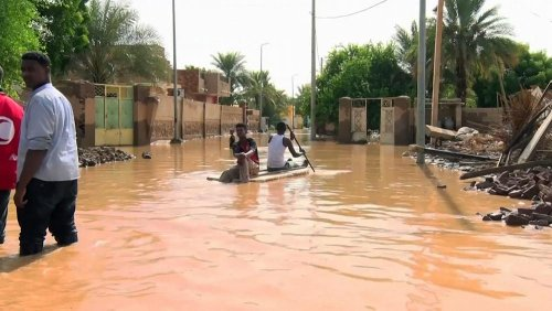 Aid sent to help the cholera outbreak, refugees crisis and flood victims in Sudan and Ethiopia