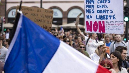 """""""Den Nicht-Geimpften das Leben schwermachen"""" - Macron greift durch"""