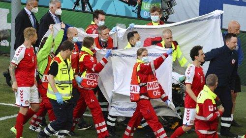 Euro 2021 : un joueur s'effondre en plein match avant de reprendre connaissance